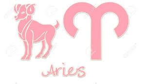 aries del zodiaco estilos estilos de color rosa pegatinas fotos