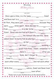 bridal mad libs guestbook alternative weddingbee