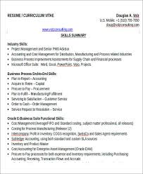 Supply Chain Resume Format 26 Accountant Resume Format