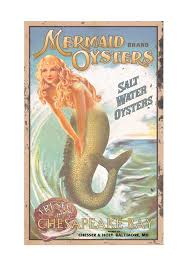 amazon com ohio wholesale mermaid advertising sign wall art from