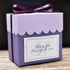 favor boxes for wedding large scallop top favor box kit 20 pcs wedding favor boxes kit