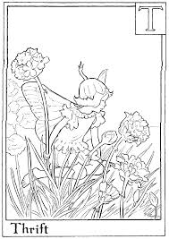 flower fairies free coloring pages on art coloring pages