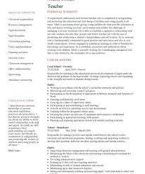 New Teacher Resume Examples by Sample Resumes For Teachers Haadyaooverbayresort Com