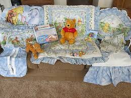 winnie the pooh classic crib nursery bedding set 12 items