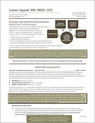Best Executive Resumes by Healthcare Executive Resume Impressive Objective For Resume