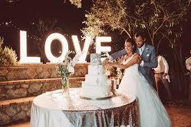 wedding backdrop letters italian destination wedding at il faro with essense of australia gown