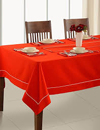tablecloth for 54x54 table handmade christmas red table linen 4 seater square tablecloth