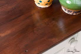 wax for wood table annie sloan paint colour faking a rich mahogany look with chalk