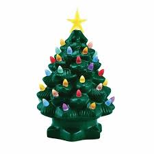 ceramic christmas tree nostalgic ceramic christmas tree walmart