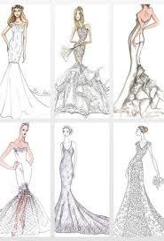 wedding dress drawing custom wedding dress sketch bridal gown