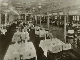 titanic first class dining room first class dining room aboard the olympic 1911 used as a