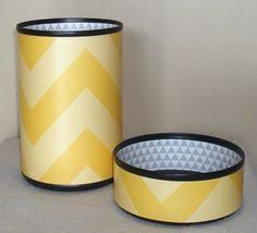 Chevron Desk Accessories Gold And Gray Chevron Desk Accessories Sharpened By Makingtimetc
