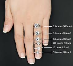 what size diamond earrings should i buy 13 best carat comparison images on diamond sizes