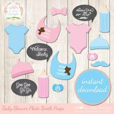 printable girly photo booth props baby shower photo booth baby shower baby shower photo booth props