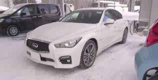 infiniti q50 2017 white new nissan skyline 350gt spotted in japan is actually the