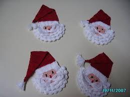 bufandas mis tejidos tejer en navidad manualidades navidenas bufanda caras de papanoel en crochet crochet pinterest caras