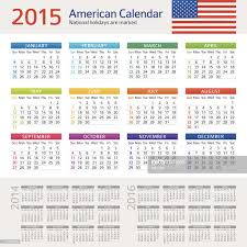 usa calendar 2016 vector getty images