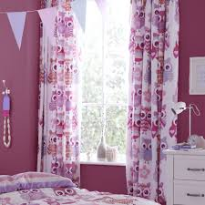 Owl Drapes White And Red Bedroom Curtains U2013 Laptoptablets Us