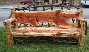 Diy Patio Bench by Rustic Outdoor Bench Foter