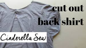 how to cut out the back of a cabinet cut open the back of a t shirt diy backless tshirt tutorial how to cut back of shirt