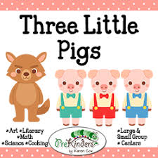 pigs sequencing cards activities