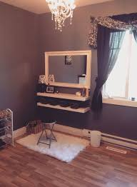 Makeup Vanity Table With Lights Best 25 Corner Makeup Vanity Ideas On Pinterest Diy Makeup