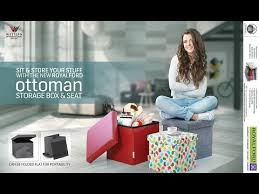 royalford ottoman youtube
