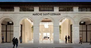 Apple Store Paris L U0027apple Store Du Marché Saint Germain 1 Paris Com