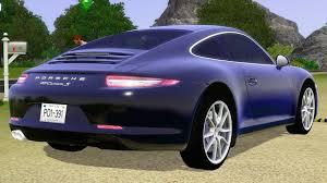 purple porsche 911 turbo fresh prince creations sims 3 2013 porsche 911 carrera s