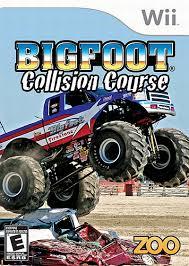 bigfoot monster truck game bigfoot collision course ign com