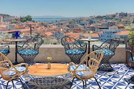 lisbon rooftop bars cocktail bars with a view condé nast traveller
