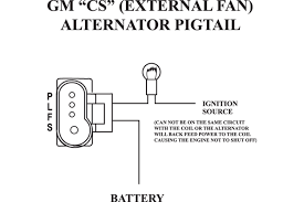 single wire alternator wiring diagram with alt b jpg best of gm