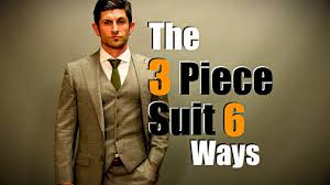 what hair styles suit braces men s style tip the 3 piece suit styled 6 ways youtube