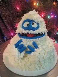 adorable bumble cake cake snowman cake holidays