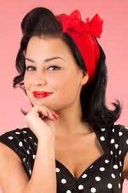 1950s hair accessories 50s hair bandanna headband scarf flowers 1950s hair hair