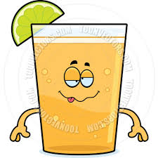 cartoon margarita cartoon beer with lime drunk by cory thoman toon vectors eps 67536