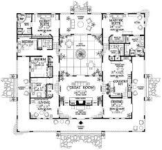 moroccan riad floor plan spanish style home plans nicf