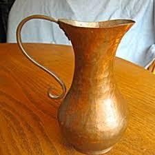 Copper Vases For Sale Vintage Hammered Copper Vase For Sale At More Than Mccoy On Tias