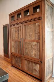 Reclaimed Wood Kitchen Island Kitchen Room Appealing Outdoor Kitchen Cabinets Barn Wood Double