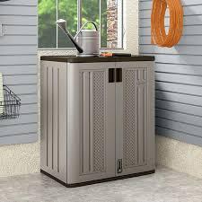 Horizontal Storage Cabinet Suncast Outdoor Storage Horizontal Storage Shed Suncast Outdoor
