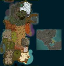map size comparison how large are mmo now really a comparison in sizes