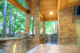 Patio Covers Houston Tx by Houston Outdoor Kitchens Spring Photos The Woodlands Arbor