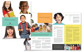 free brochure template word publisher microsoft