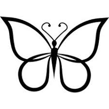 butterflies clipart black and white free best