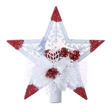 Home Decoration Online Shop Online Shop Sticky Tree Top Pentagonal Stars Plastic Christmas