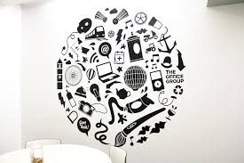the office group wall decal fiasco design
