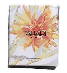 tahari luxury cotton blend shower curtain printemps floral