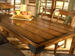 furniture outstanding industrial rustic dining table set room