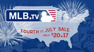 mlb tv on sale for fourth of july mlb com