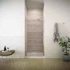 Kohler Fluence Shower Doors Kohler Fluence 34 In X 65 1 2 In Semi Frameless Pivot Shower
